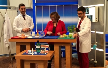 OUR PARTICIPATIONS IN THE TELEVISION PROGRAM DR. SAÚDE